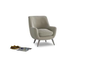 Berlin Armchair in Blighty Grey Clever Cord