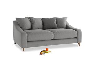 Medium Oscar Sofa in Cloudburst Bamboo Softie