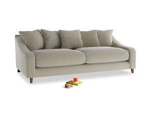 Large Oscar Sofa in Blighty Grey Clever Cord