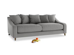 Large Oscar Sofa in Cloudburst Bamboo Softie