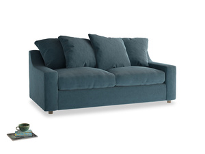 Medium Cloud Sofa in Lovely Blue Clever Cord