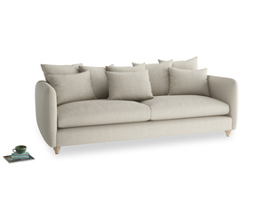 Extra large Podge Sofa in Thatch house fabric