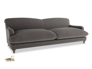 Extra large Pudding Sofa in Everyday Grey Clever Cord