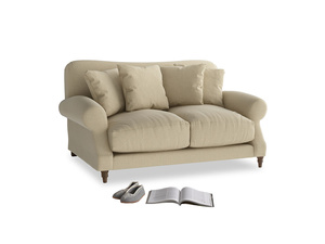 Small Crumpet Sofa in Hopsack Bamboo Softie