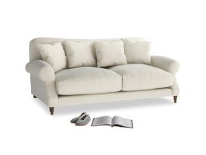 Medium Crumpet Sofa in Alabaster Bamboo Softie
