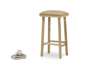 Tall Bumpkin kitchen stool