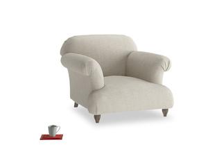 Soufflé Armchair in Thatch house fabric