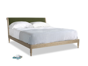 Superking Darcy Bed in Leafy Green Clever Cord