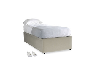 Single Friends Trundle Bed in Blighty Grey Clever Cord