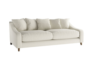 Large Oscar Sofa in Oat brushed cotton