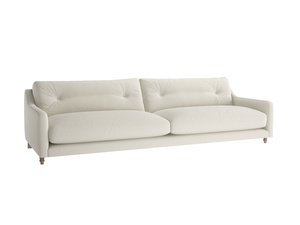 Extra large Slim Jim Sofa in Oat brushed cotton