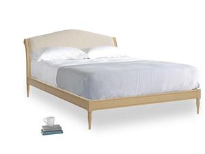 Kingsize Fifi Bed in Natural linen