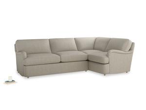 Thatch House Fabric Jonesy LA RH Corner sofa bed