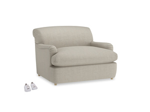Thatch House Fabric Pudding Loveseat Sofabed