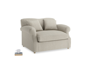 Thatch House Fabric Crumpet Loveseat Sofabed