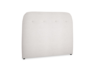 Double Napper Headboard in Winter White Clever Velvet
