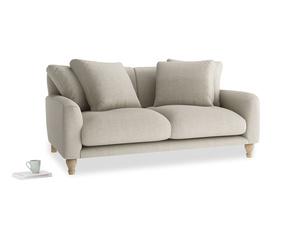 Medium Bear Hug Sofa in Thatch house fabric