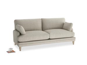 Medium Squisharoo Sofa in Thatch house fabric