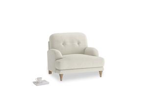 Oat Brushed Cotton Sugar Bum Armchair