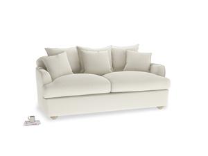 Oat Brushed Cotton Smooch Sofa bed MED