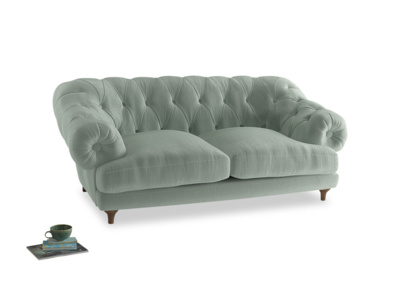 Medium Bagsie Sofa in Mint clever velvet