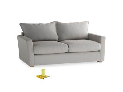 Medium Pavilion Sofa Bed in Wolf brushed cotton
