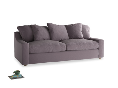 Large Cloud Sofa in Lavender brushed cotton