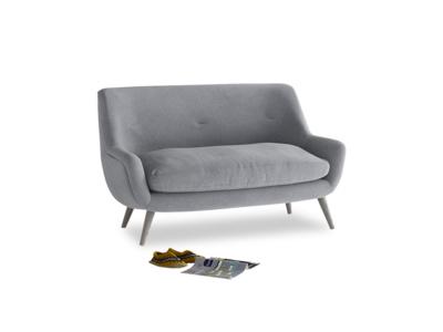 Small Berlin Sofa in Dove grey wool