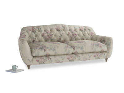Large Butterbump Sofa in Pink vintage rose