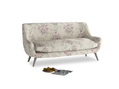 Medium Berlin Sofa in Pink vintage rose