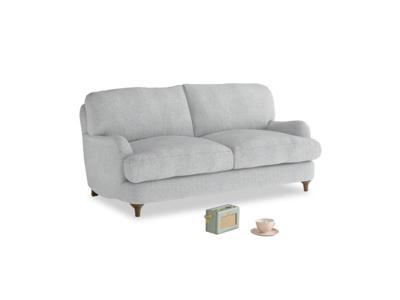 Small Jonesy Sofa in Pebble vintage linen