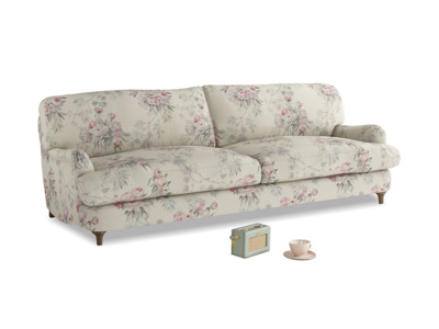 Large Jonesy Sofa in Pink vintage rose