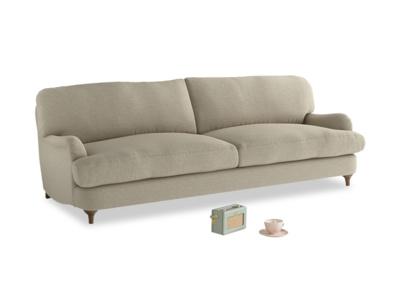 Large Jonesy Sofa in Jute vintage linen