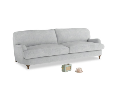 Large Jonesy Sofa in Pebble vintage linen