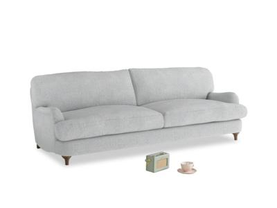 Large Jonesy Sofa in Pebble vintage linen