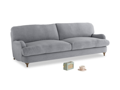 Large Jonesy Sofa in Dove grey wool
