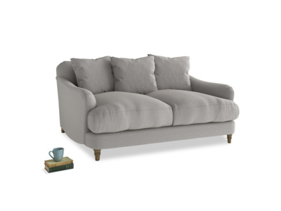 Small Achilles Sofa in Wolf brushed cotton