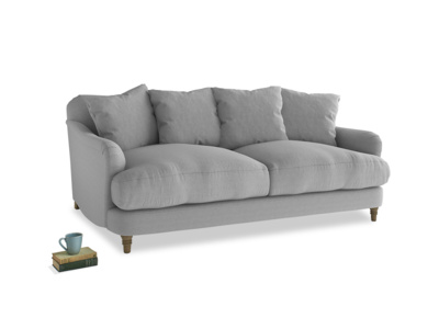 Medium Achilles Sofa in Magnesium washed cotton linen