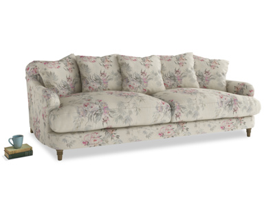 Large Achilles Sofa in Pink vintage rose