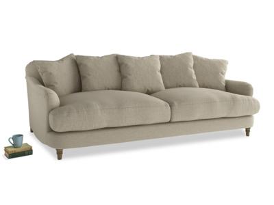 Large Achilles Sofa in Jute vintage linen