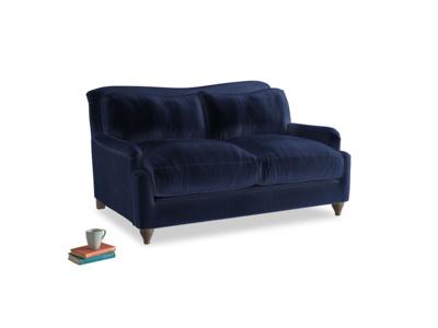 Small Pavlova Sofa in Midnight Plush Velvet