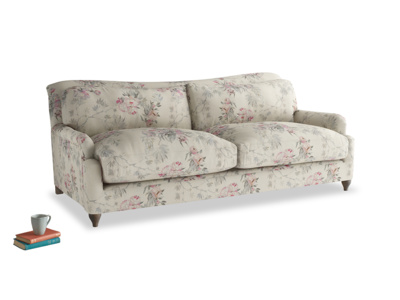 Large Pavlova Sofa in Pink vintage rose
