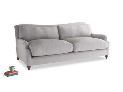 Large Pavlova Sofa in Flint brushed cotton