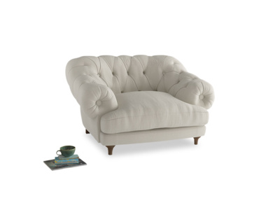 Bagsie Love Seat in Oat brushed cotton