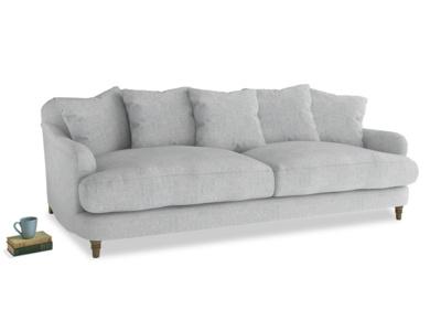 Large Achilles Sofa in Pebble vintage linen
