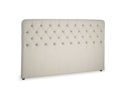 Superking Billow Headboard in Thatch house fabric