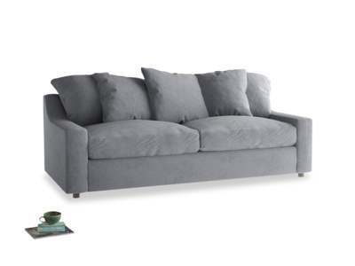 Large Cloud Sofa in Dove grey wool