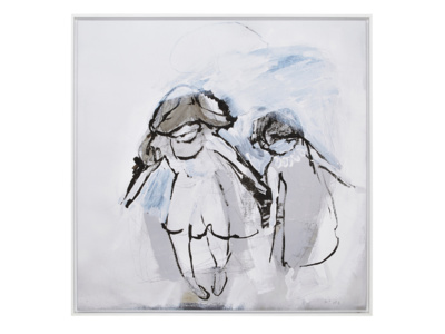 Hermit Girls canvas print