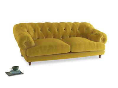 Large Bagsie Sofa in Bumblebee clever velvet