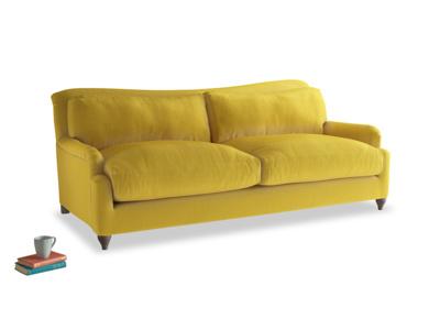 Large Pavlova Sofa in Bumblebee clever velvet